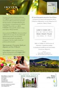 Invito Vins d'Alsace 2 maggio
